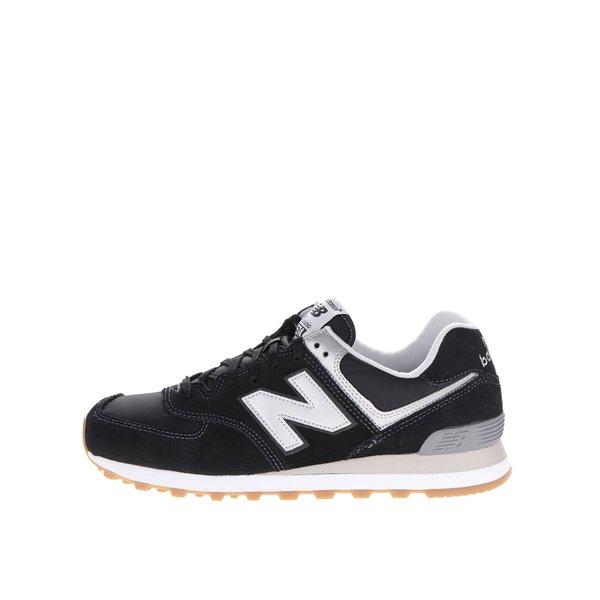 Pantofi sport negru&argintiu New Balance 574 de la New Balance in categoria pantofi sport și teniși