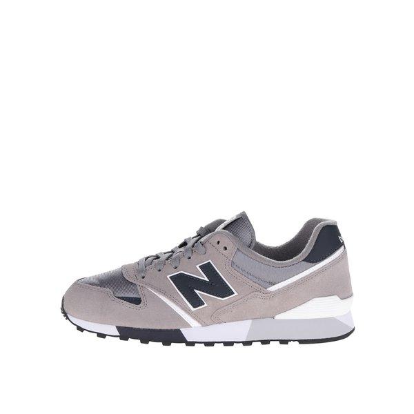 Pantofi sport gri New Balance 446 de la New Balance in categoria pantofi sport și teniși