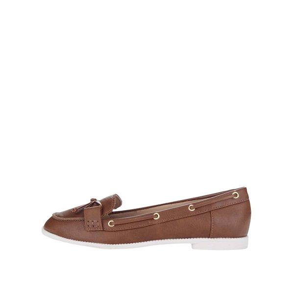 Mocasini maro Dorothy Perkins de la Dorothy Perkins in categoria pantofi și mocasini