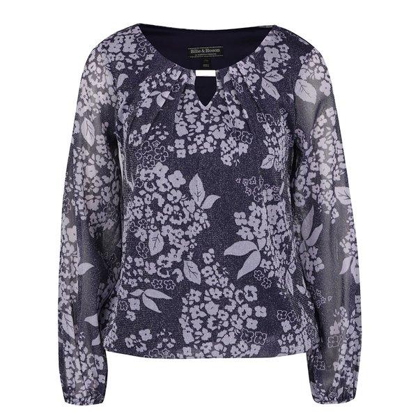 Bluză mov Billie & Blossen cu model de la Billie & Blossom in categoria Topuri, tricouri, body-uri