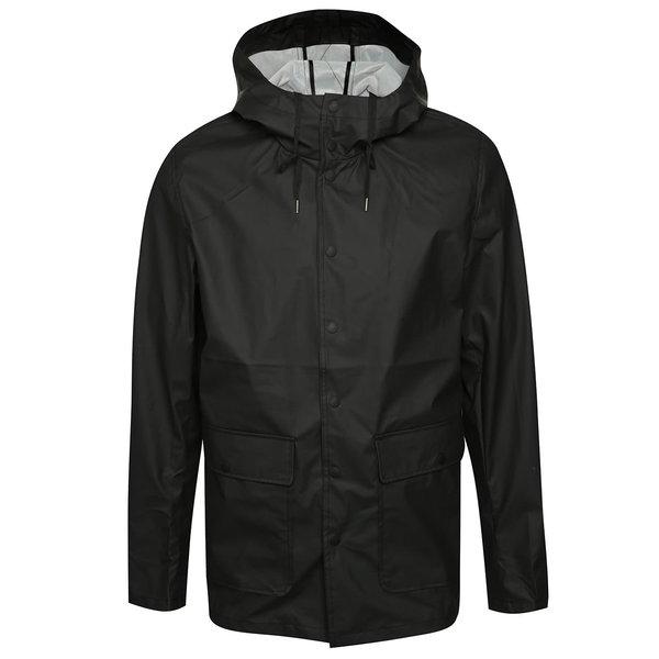Jachetă neagră impermeabilă ONLY & SONS Berzan de la ONLY & SONS in categoria Geci, paltoane, jachete