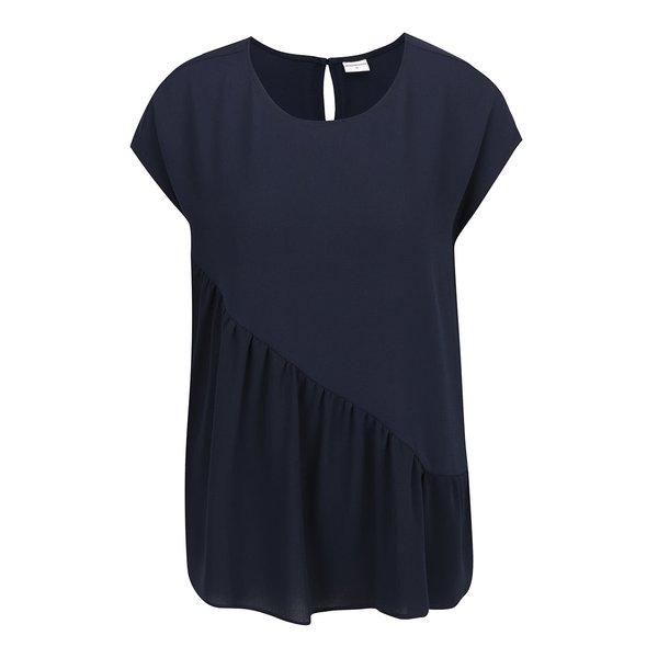Top albastru închis supradimensionat Jacqueline de Yong Chrissy cu detaliu de la Jacqueline de Yong in categoria Topuri, tricouri, body-uri
