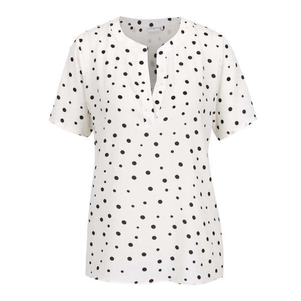 Bluză crem Jacqueline de Yong Orla cu model cu buline de la Jacqueline de Yong in categoria Topuri, tricouri, body-uri