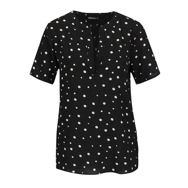 Bluză neagră Jacqueline de Yong Orla cu model cu buline de la Jacqueline de Yong in categoria Topuri, tricouri, body-uri