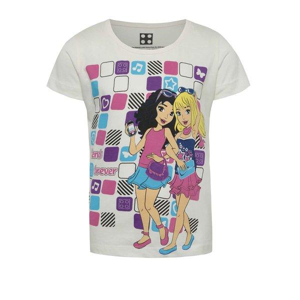 Tricou crem cu imprimeu LEGO wear pentru fete