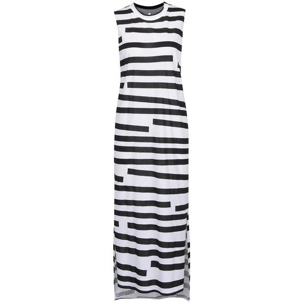 Rochie maxi negru & alb Cheap Monday în dungi de la Cheap Monday in categoria rochii casual