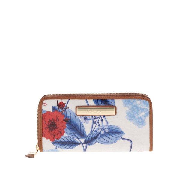 Portofel crem cu imprimeu floral Liberty by Gionni Anais de la Liberty by Gionni in categoria portofele