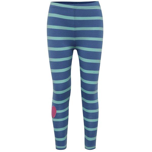Colanți albastru & turcoaz 5.10.15. cu model în dungi de la 5.10.15. in categoria Pantaloni, pantaloni scurți, colanți