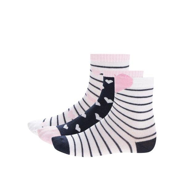 Set trei perechi de șosete multicolore 5.10.15 pentru fete