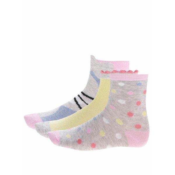 Set trei perechi de șosete 5.10.15 pentru fete de la 5.10.15. in categoria Sosete, dresuri
