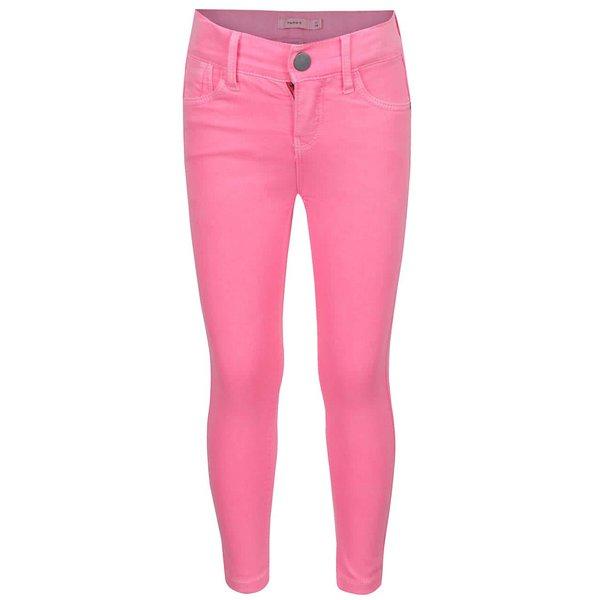 Blugi roz neon skinny name it Babea de la name it in categoria Pantaloni, pantaloni scurți, colanți