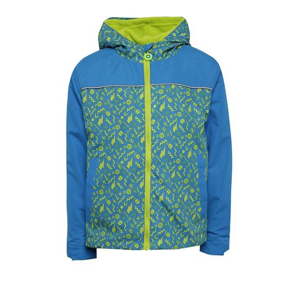 Jachetă 2în1 impermeabilă verde cu albastru 5.10.15. 2în1 pentru băieți