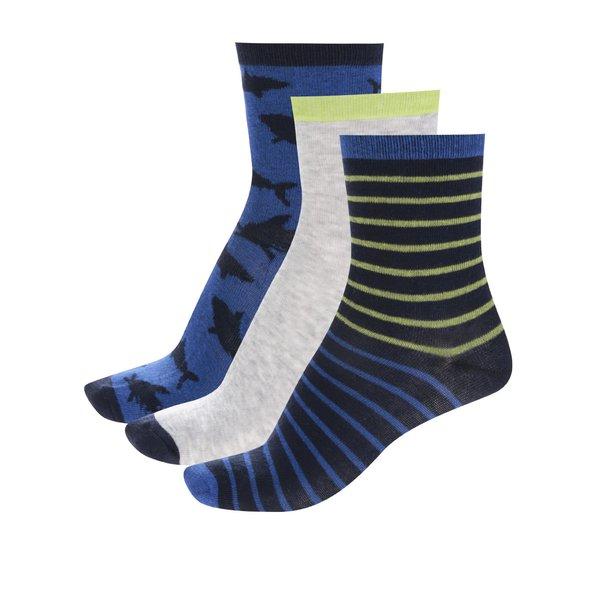 Set trei perechi de șosete albastru&gri 5.10.15 pentru băieți de la 5.10.15. in categoria Sosete, dresuri