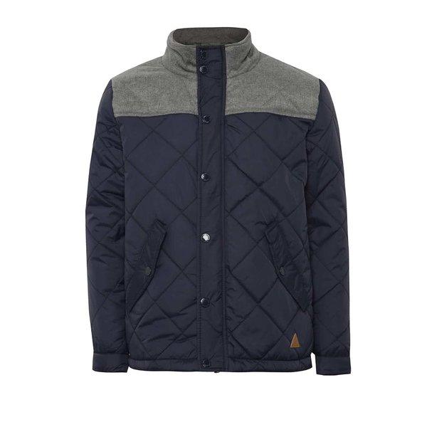 Jachetă gri cu albastru 5.10.15. cu aspect matlasat pentru băieți