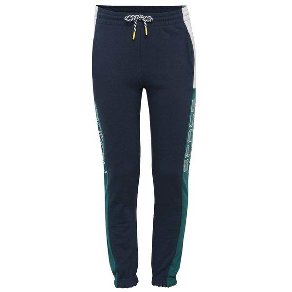 Pantaloni sport verde-albastru 5.10.15. cu imprimeu pentru băieți