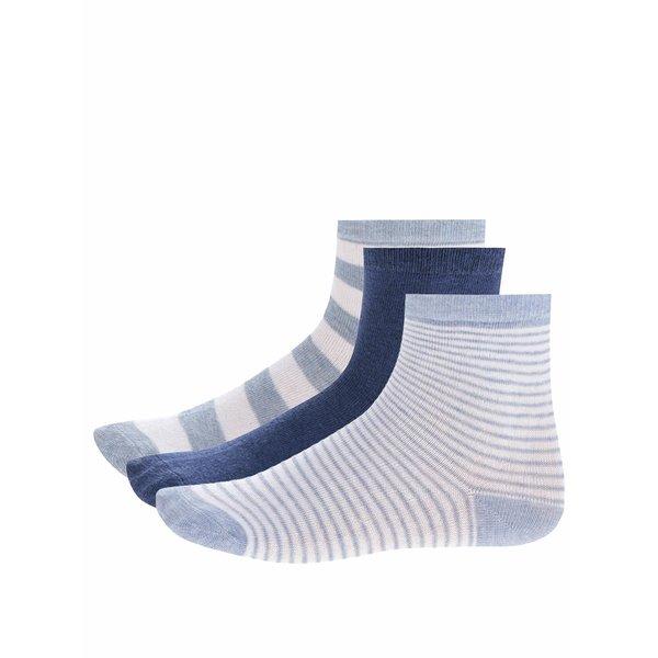 Set de 3 perechi de șosete albastru & gri 5.10.15. pentru băieți de la 5.10.15. in categoria Sosete, dresuri