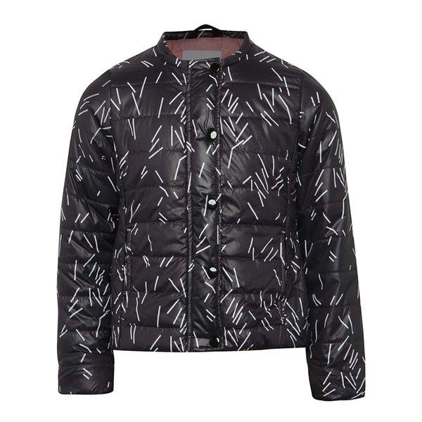Jachetă neagră 5.10.15. cu model pentru fete de la 5.10.15. in categoria Geci, jachete, paltoane