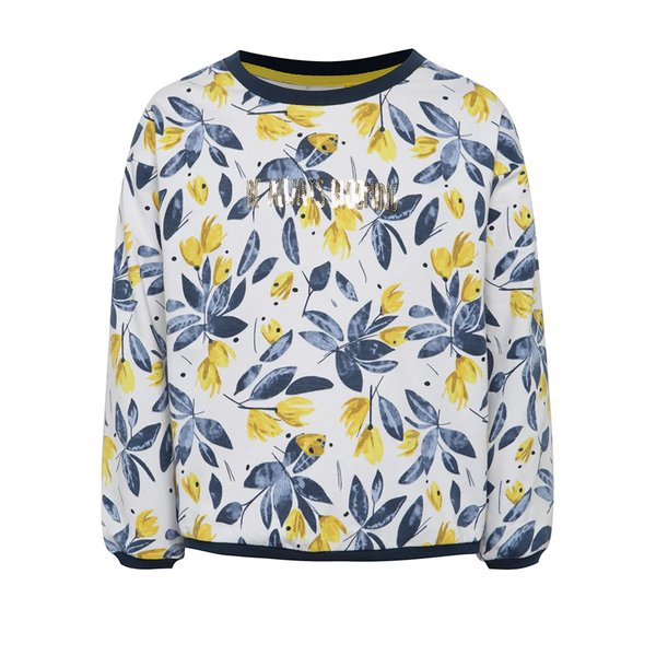 Bluză albastru & alb 5.10.15. cu model pentru fete