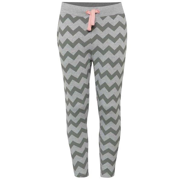 Pantaloni sport gri 5.10.15. cu model pentru fete