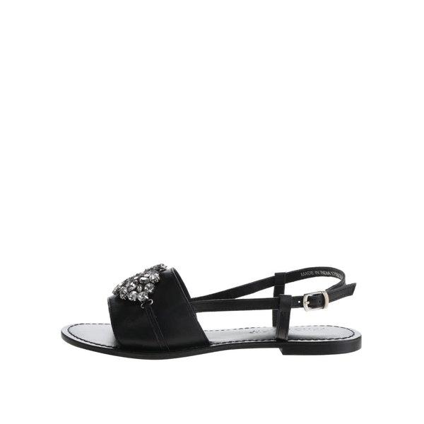 Sandale negre VERO MODA Lela cu aplicații decorative de la VERO MODA in categoria sandale