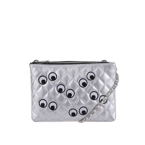 Geantă argintie crossbody TALLY WEiJL de la TALLY WEiJL in categoria genți mici