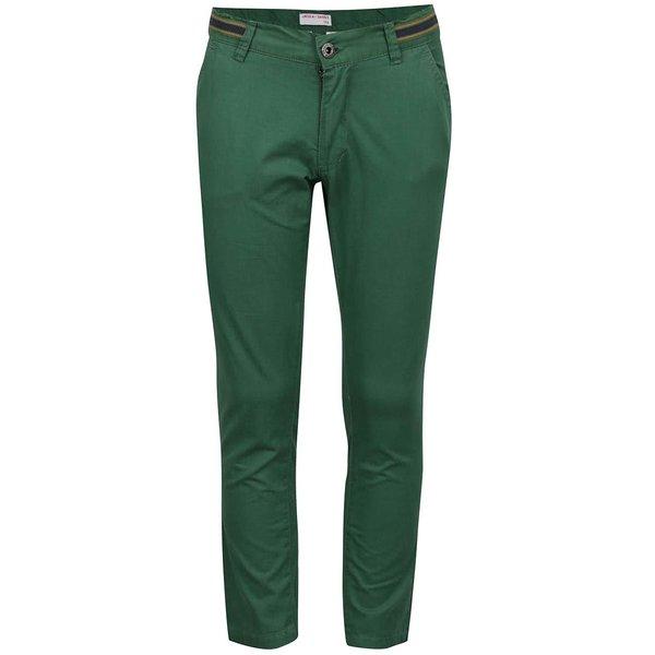 Pantaloni chino verde închis 5.10.15. pentru băieți