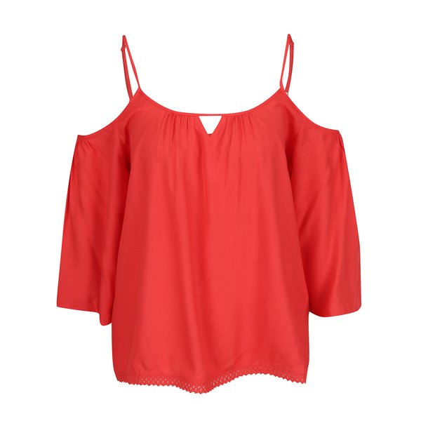 Top roșu VERO MODA Deb cu bretele subțiri de la VERO MODA in categoria Topuri, tricouri, body-uri