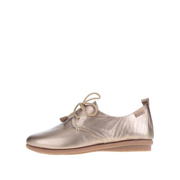 Pantofi argintii Pikolinos Calabria din piele de la Pikolinos in categoria pantofi și mocasini