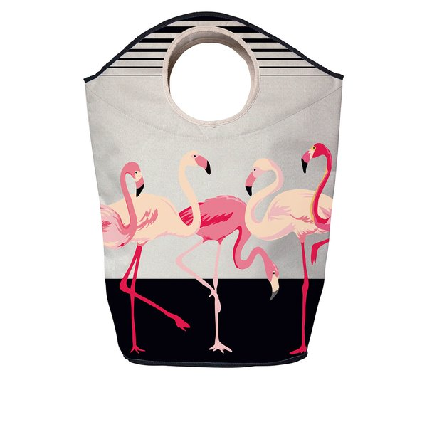 Cos de rufe crem cu print flamingo - Butter Kings