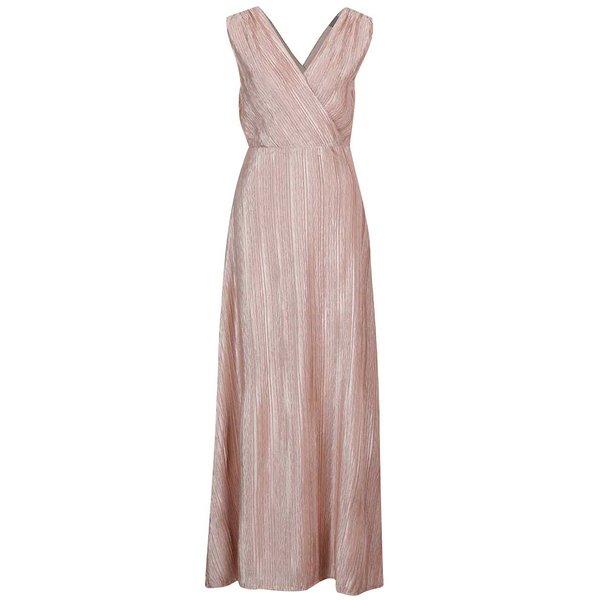 Rochie maxi ros prăfuit VERO MODA Lizzie de la VERO MODA in categoria rochii de seară