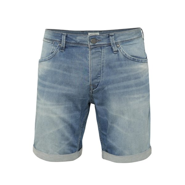 Pantaloni scurți Jack & Jones Rick Dash albastru deschis din denim