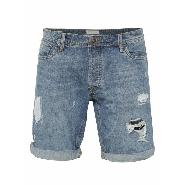 Pantaloni scurți Jack & Jones Rick Original albaștri din denim de la Jack & Jones in categoria Blugi, pantaloni, pantaloni scurți