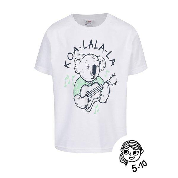 Tricou alb de băieți ZOOT Kids Koa_la de la ZOOT Kids in categoria Tricouri, camasi