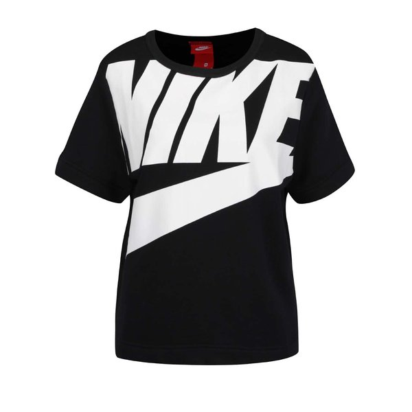 Tricou negru Nike Modern cu logo de la Nike in categoria Pulovere și hanorace