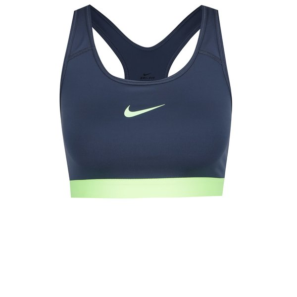Bustier albastru&verde Nike Pro Classic