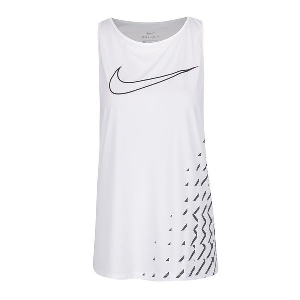 Maiou sport alb Nike Breathe de la Nike in categoria maiouri