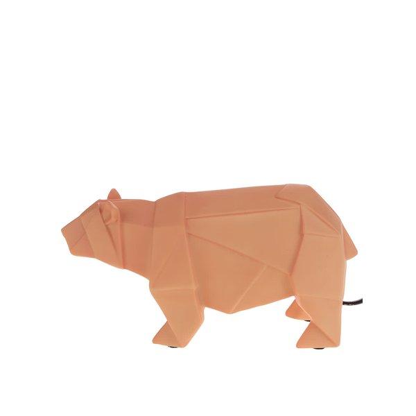Lampă LED portocalie Disaster în formă de urs de la Disaster in categoria Pentru dormitor și camera de zi