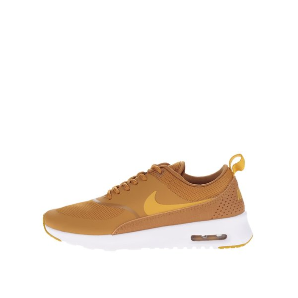 Pantofi sport ocru Nike Air Max Thea de la Nike in categoria pantofi sport și teniși