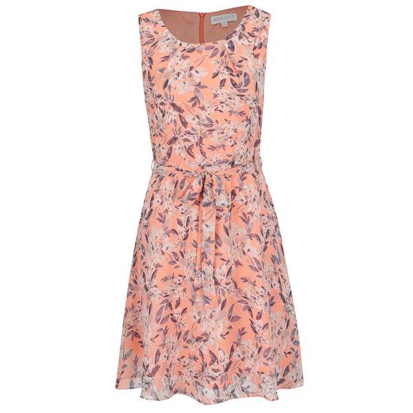 Rochie portocalie Apricot cu model de la Apricot in categoria rochii de seară