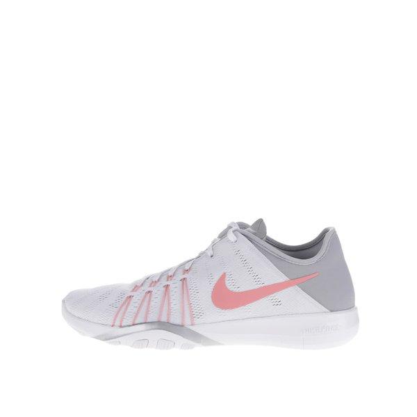 Pantofi sport gri&alb Nike Free 6 de la Nike in categoria pantofi sport și teniși