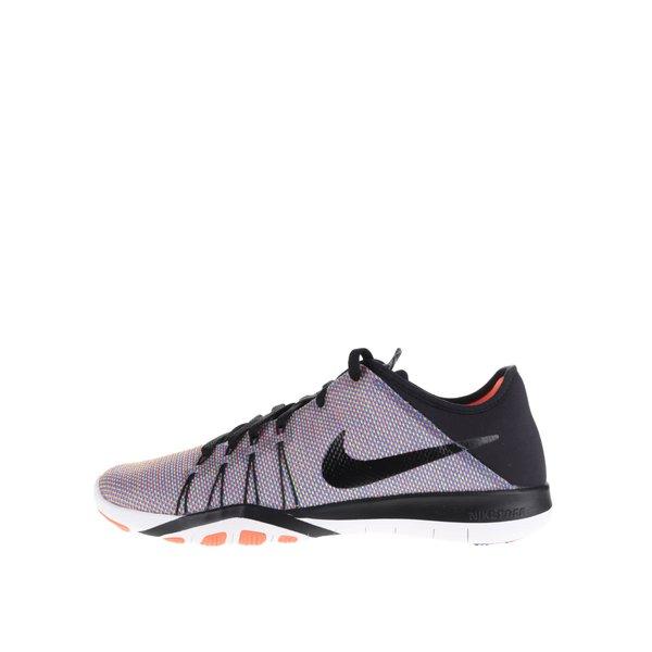 Pantofi sport negru&portocaliu Nike Free 6 Print de la Nike in categoria pantofi sport și teniși