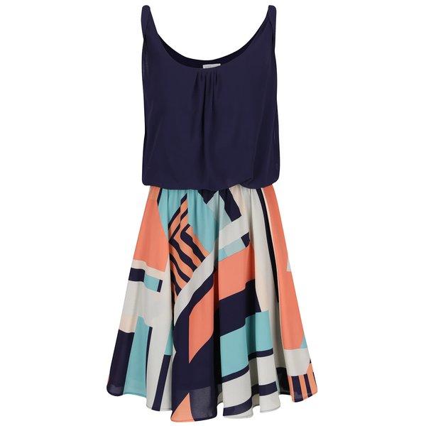 Rochie albastră Apricot cu model de la Apricot in categoria rochii casual