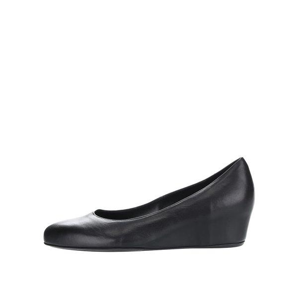 Pantofi negri Högl din piele cu platformă wedge ascunsă de la Högl in categoria balerini