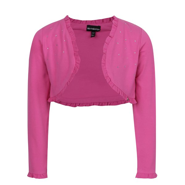 Bolero roz închis Mix´n Match cu aplicații