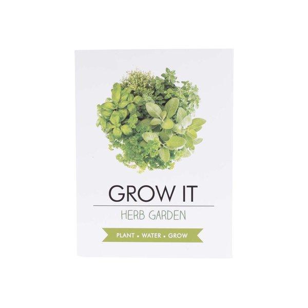 Set creștere plante aromatice Gift Republic Grow It de la Gift Republic in categoria CASĂ ȘI DESIGN