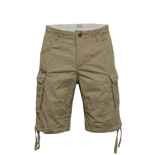Pantaloni scurți bej Jack & Jones Chop de la Jack & Jones in categoria Blugi, pantaloni, pantaloni scurți