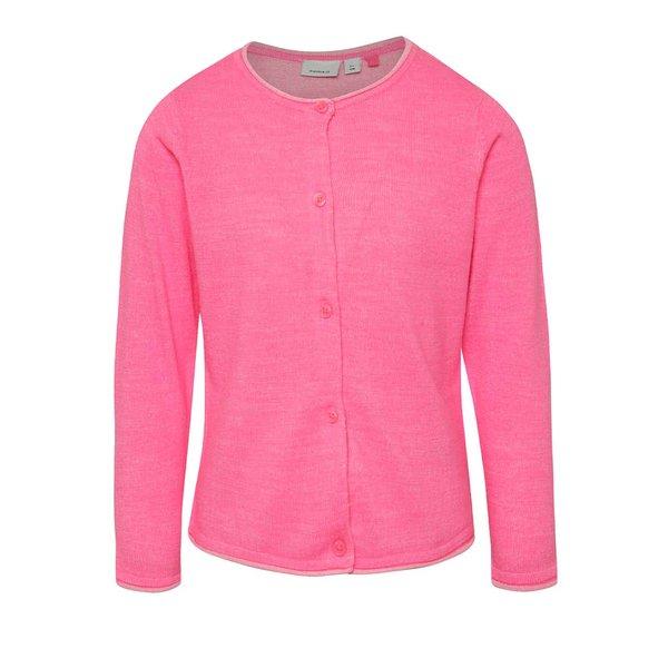 Cardigan roz pentru fetițe name it Galin