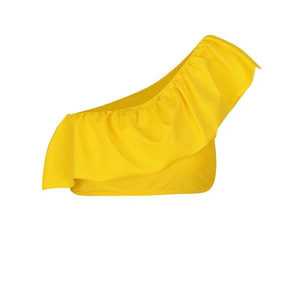Bustier galben de baie pe un umăr VERO MODA Ella de la VERO MODA in categoria Lenjerie intimă, pijamale, costume de baie
