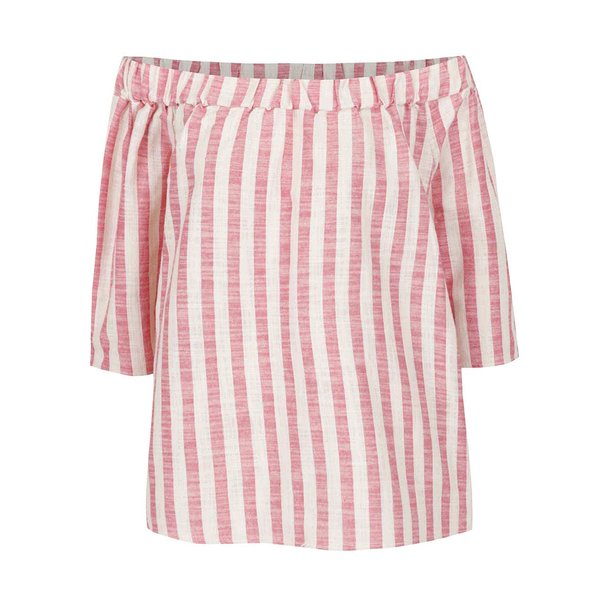 Bluza oversized rosie in dungi VERO MODA Laura