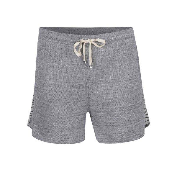 Pantaloni scurti gri VILA Bima cu detalii laterale